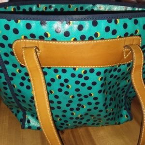 Fossil gorgeous coated tote